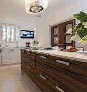 If you have the space, double doors look impressive. Wood and glass doors from Vicaima. www.vicaima.com