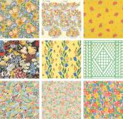 You'll almost certainly recognise some Collier Campbell designs - and may well have had duvet covers with them on