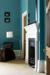 Paint is the easiest material to use for a room makeover. Picture from Farrow & Ball