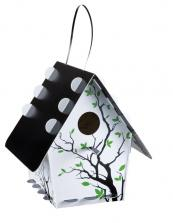 New to the UK, recyclable plastic Tweet Tweet Home birdhouses, £14.95 www.thediscoverystore.co.uk