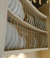 A plate rack