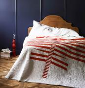 Be inspired too make a quilted bedspread