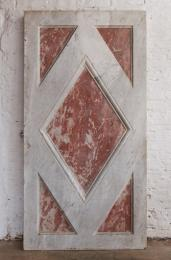Pink and white marble slab, from an altar front, mid C19th, £1,250 + VAT. www.retrouvius.com