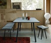 Simple Shaker style Georg solid oak table by Skagerrak, £1,439 at Funktion Alley. Black lacquer finish available
