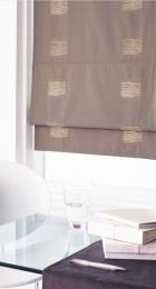 Choose a fabric that goes with the general colour scheme of your room