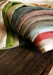 Hemp upholstery fabric made from Romanian grown organic hemp, £90 per m, www.todhunterearle.com