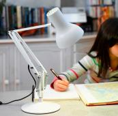 The Anglepoise 75 Mini has a max height of 50cm and comes in 4 colours. £105