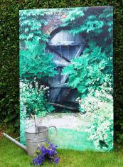 A trompe l'oeil from Insideout Garden Art
