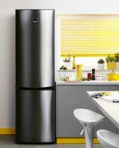 A++ rated Zanussi Combi Bottom ZRB38315XA Fridge Freezer. £499