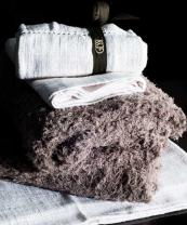 Italian bathroom company Gessi offers luxurious towels in super soft organic cotton. A towel bale costs £398. www.gessi.com
