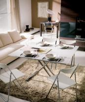 Reno - Furl's 3 tables in one..here it's in 8-seating dining mode. furl.co.uk