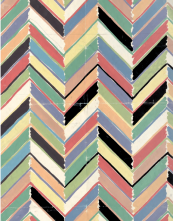Colourful chevrons, Palermo for Habitat, late '80s