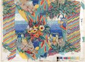 Carte Blanche, a painterly scene, 1987, for P Kaufmann