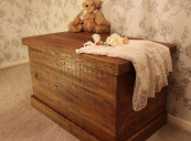 Bremnes reclaimed pine blanket box from Modish Living. www.modishliving.co.uk