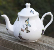 Hampstead Heath bone china teapot, made and decorated in UK, by Ali Miller. £65. www.alimiller.co.uk