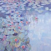 John Sprakes' Pond, 118x118cms, £4,000