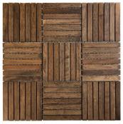 Etnik wood mosaic from Polish company Dunin, www.dunin.eu