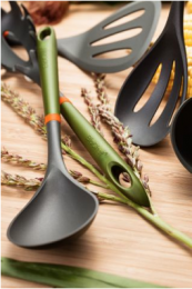 Judge BioChef utensils have biodegradable handles. From £4.20 at Harts of Stur. www.hartsofstur.com