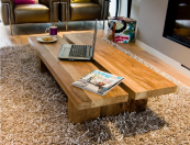 Rinjani reclaimed teak medium coffee table, from Ombak Furniture, £345, www.ombakfurniture.com