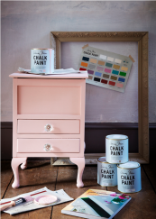 Annie Sloan Chalk Paint is ideal for up cycling furniture and for covering your walls. www.anniesloan.com
