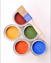 Auro natural paints contain ingredients such as organic linseed oil, coconut fat and palm kernel