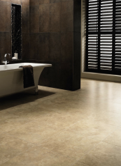 PVC vinyl floors from brands such as Amtico are recyclable and Amtico products contain post-consumer recycled content. www.amtico.com