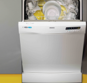 New 12-place setting Freestanding A++ rated dishwasher from Zanussi. 30 minute quick wash option. £429