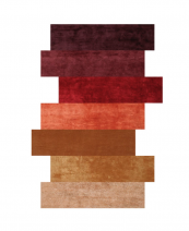 Colours rug in wool/silk/banana fibre/hemp by Spain's Now Carpets, POA. www.nowcarpets.com