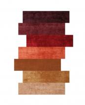 Colours rug in wool/silk/banana fibre/hemp by Spain's Now Carpets, POA. www.nowcarpets.com