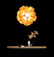 New from Burkhard Dammer, the Dandelion pendant. Lots of colours of wood are available