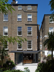 Extension to a Camden house by Ben Adams Architects. Talk to them at their open studio event