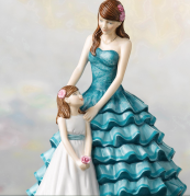 Mother's Day Figurine, Cherished Moment, £135, by Royal Dolton which produces an Annual Figurines collection
