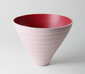 German ceramicist Christine Ruff loves soft colours and organic shapes