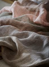 Stardust Stripes, pastel linens from de le Cuona, www.delecuona.com