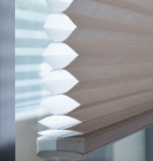 Duette honeycomb blinds are quite pricey but they do help keep the heat in and they look amazing up or down. duette.co.uk