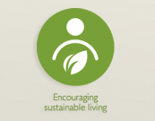 The John Lewis sustainable product identifer logo - look out for it