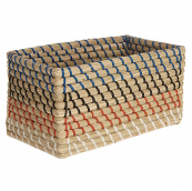 Fusion natural fibre storage basket