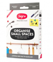 A new kit from mouldable glue people Sugru..Organise Small Spaces, £10, sugru.com