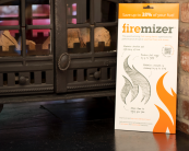 Firemizer is a special metal mesh that can help increase the burn time of wood in a wood burning stove. £19.99. firemizer.com