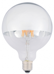 LEDlux G125 ES 6.5w - LED bulbs come in so many shapes and sizes these days. lighting-direct.co.uk
