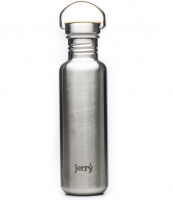 Jerry stainless steel water bottle - profits go to sanitation projects in India and Africa. £22.99 at www.ethical.market