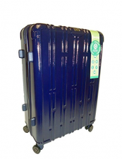 Aerolite 8 Go Green luggage is made from recycled PET plastic. Find it on Amazon and Ebay. 116L case £76 approx