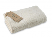 Organic cotton towels are far more eco than conventional cotton ones.. Greenfibres in Totnes sells organic cotton towels