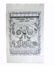 The organic cotton tea towel costs just £10