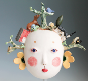 Midori Takaki ceramic face