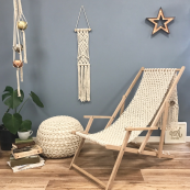 Crochet yourself a deck chair