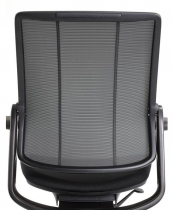 Smart Ocean task chair by Humanscale uses fishing net plastic for the backrest