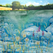 Superb quality giclee print of a Dee McLean Hampstead Heath painting. From £75 to £250