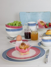 Villeroy + Boch's Colourful Life tableware collection looks great, is for mixing and matching, and is affordable.