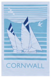 Organic cotton tea towels from Cornwall's Love Liga, £9.50
